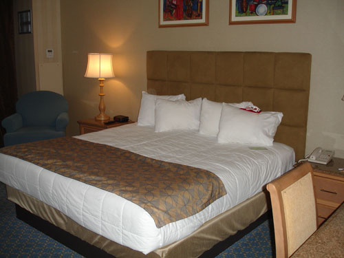 showboat atlantic city has luxurious beds
