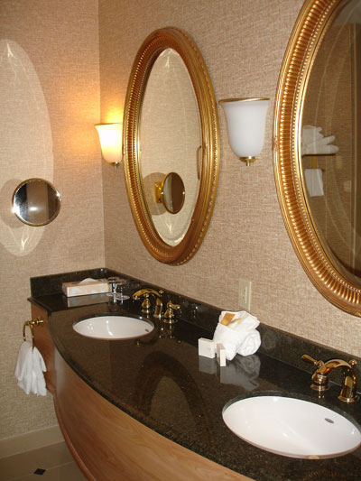 bathroom at showboat atlantic city