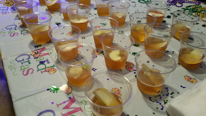 apple whiskey shot