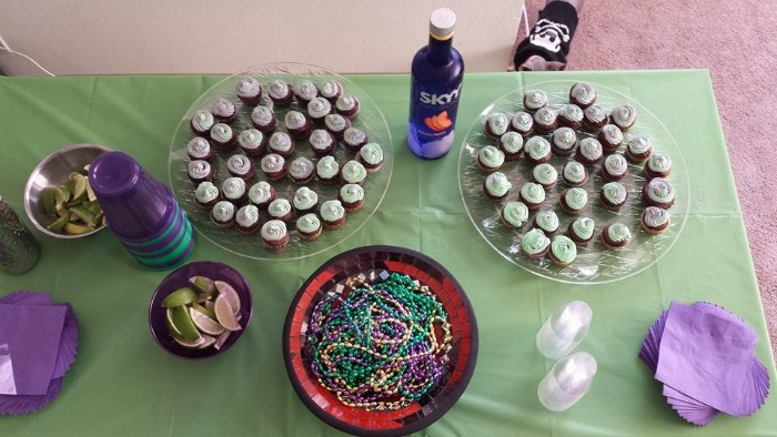 sky vodka shots cupcakes