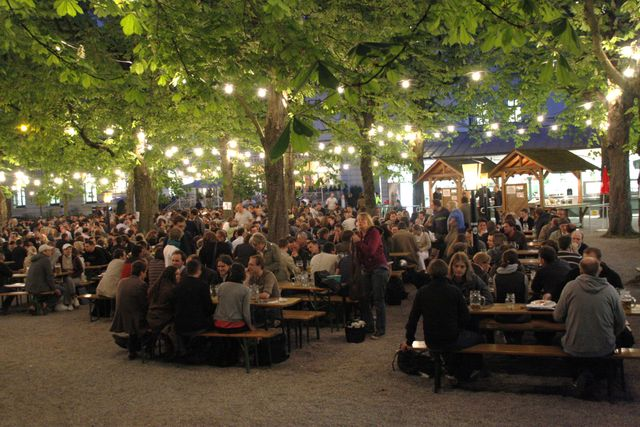 Best beer gardens in munich for What is a beer garden