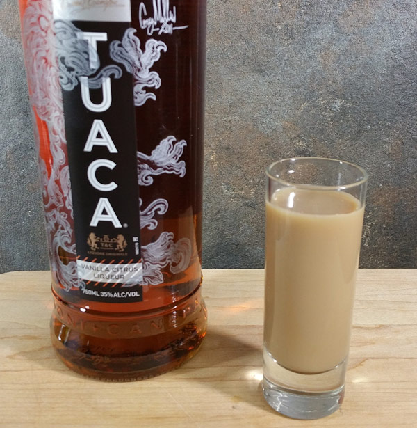 TUACA Cocktail Recipe: TUACA Mocha Shot