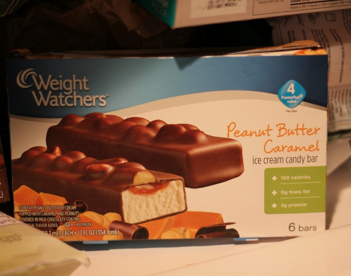 weight watchers ice cream in freezer