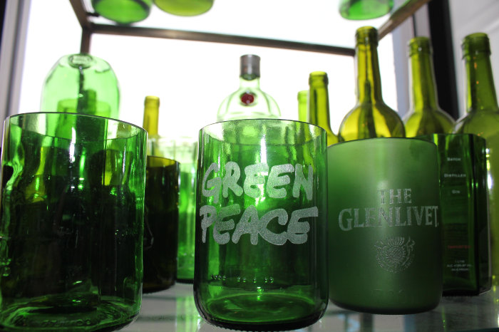 green peace glasses