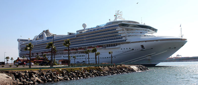 golden princess ensenada