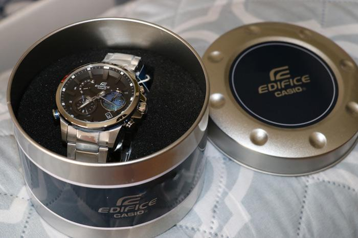 ediface casio watch
